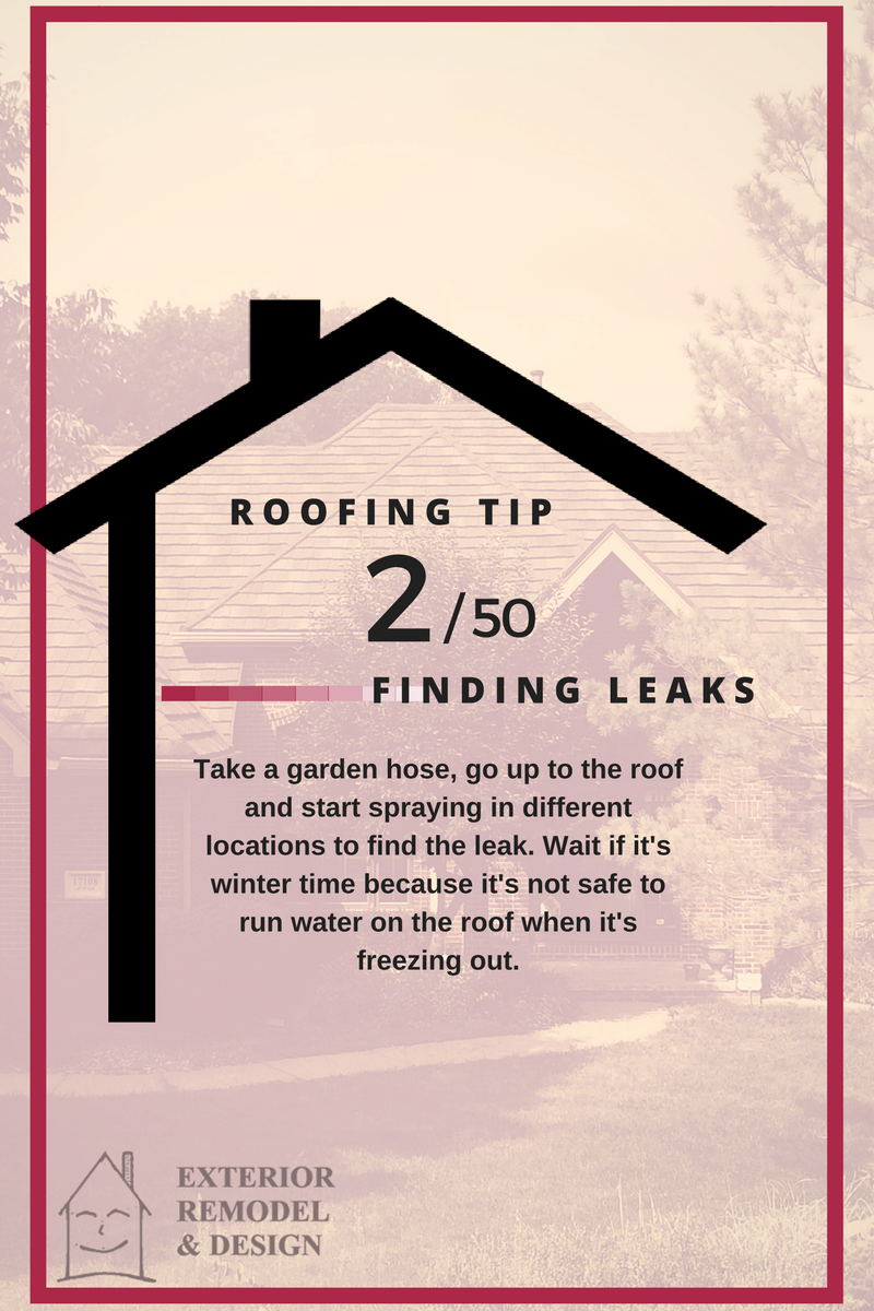Where Is My Roof Leak Coming From?