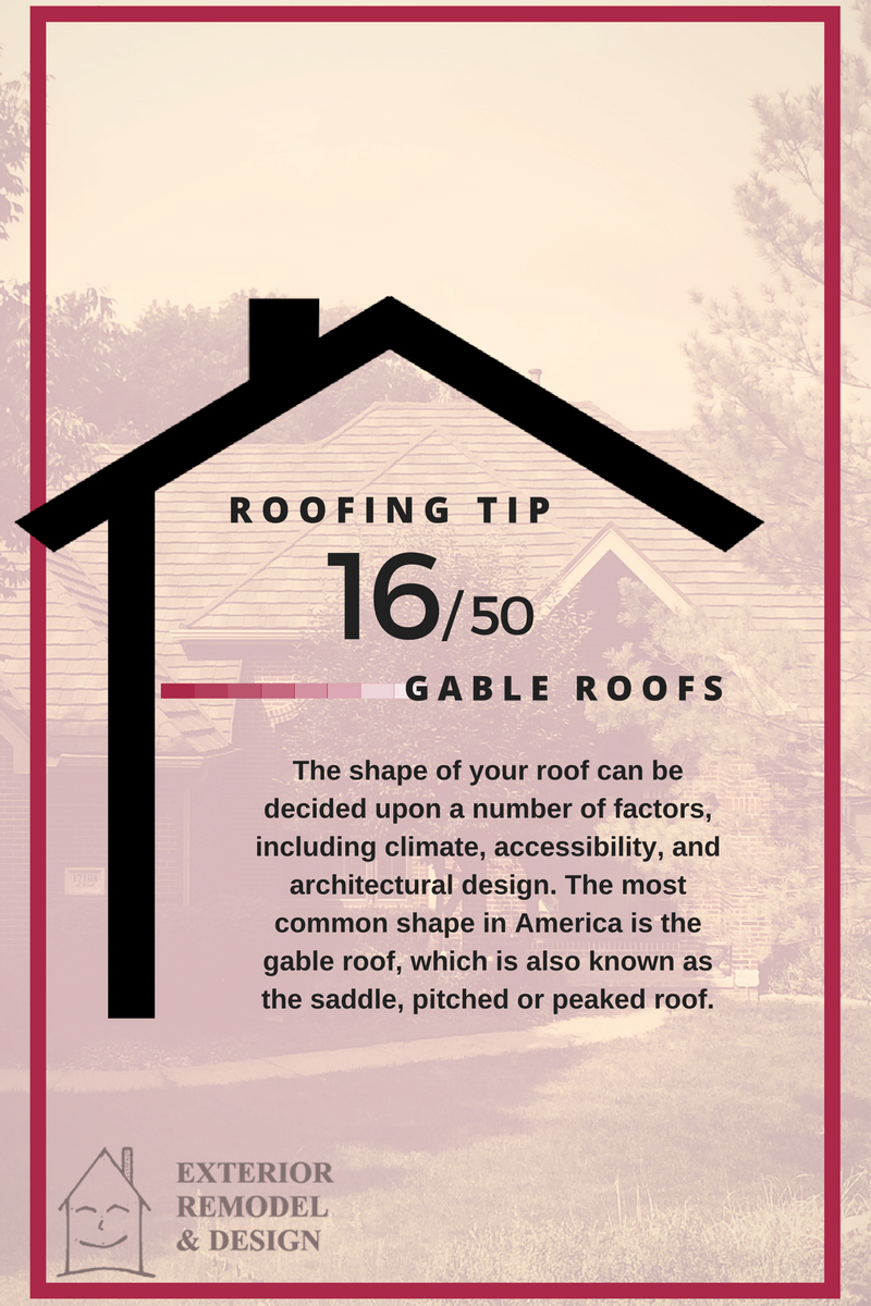 What are Gable Roofs?