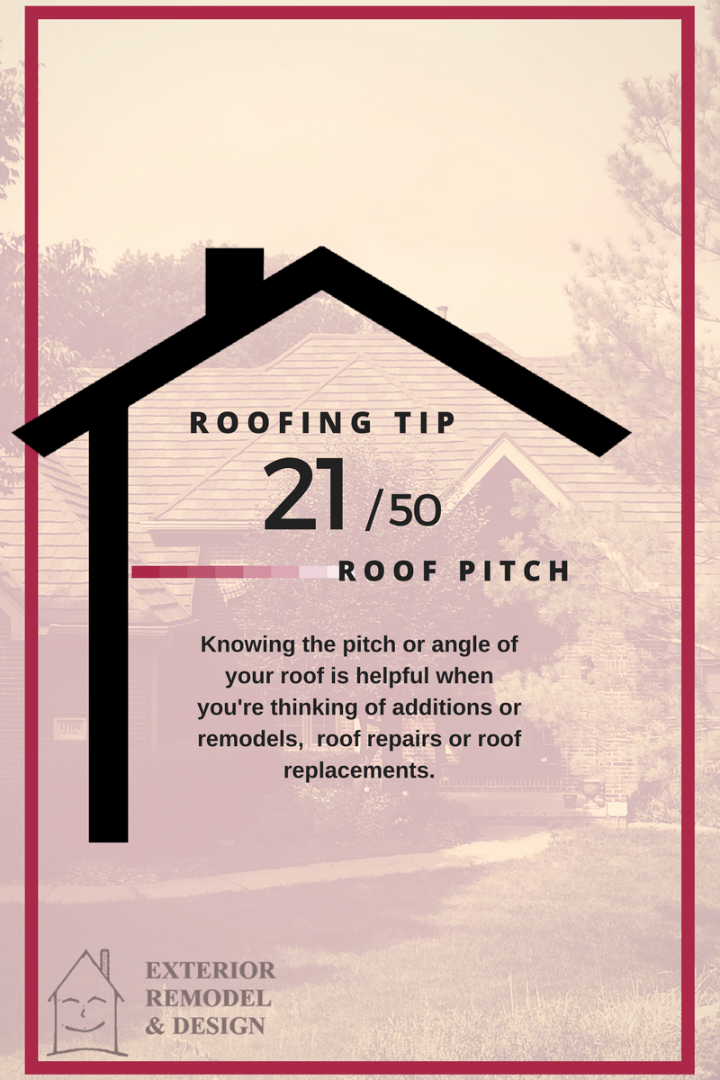 What is Roof Pitch?
