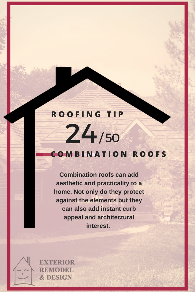 Combination Roofs Are A Great Option For Your Omaha Home