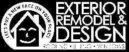 Exterior Remodel & Design Logo Reversed