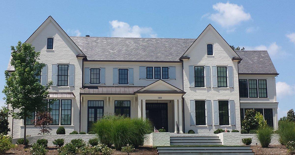 True slate roofing exterior remodel design of omaha for Exterior remodel and design omaha