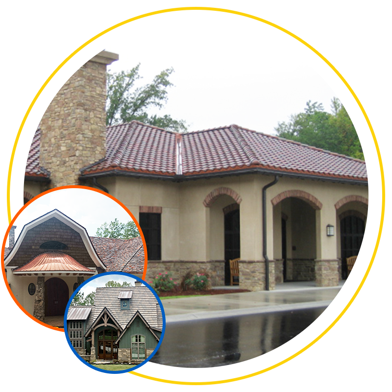 Lodowici roof examples from Exterior Remodel & Design
