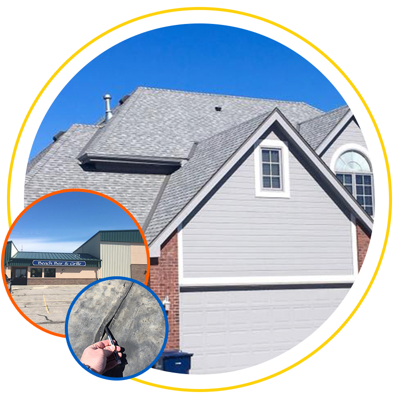 Roofing and repair services from Exterior Remodel & Design in Omaha, NE
