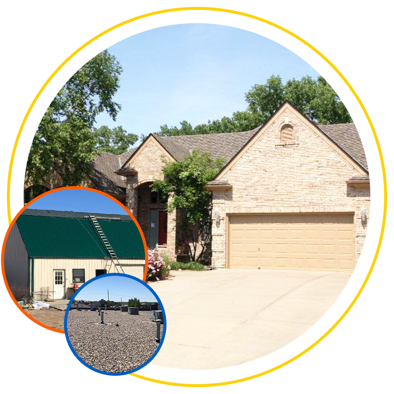 Types of roofing repairs by Exterior Remodel & Design