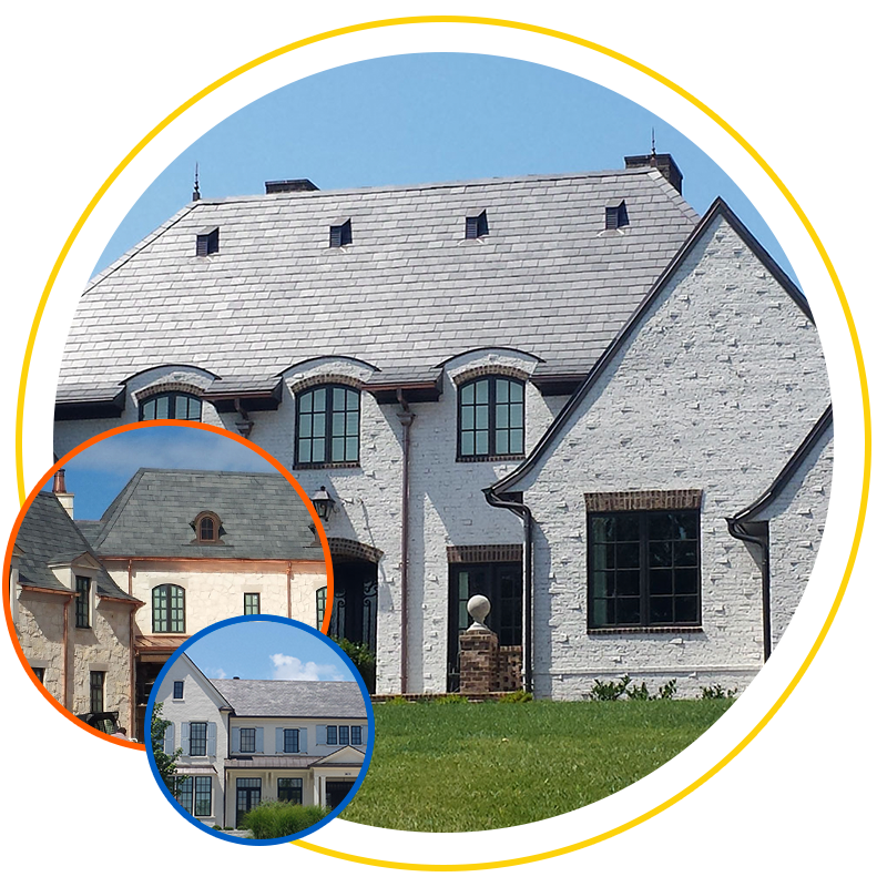 True Slate Roofing Exterior Remodel Design Of Omaha