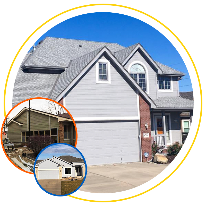 siding projects completed by Exterior Remodel & Design in Omaha, NE