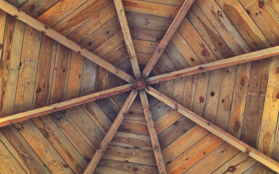 vintage wood ceiling roof